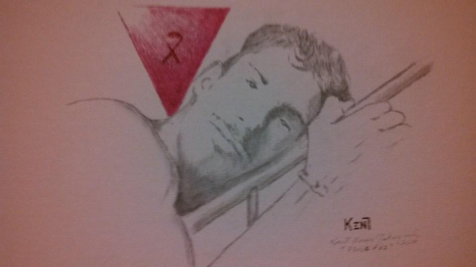 """Proud Poz"" by Kent Tahsequah"