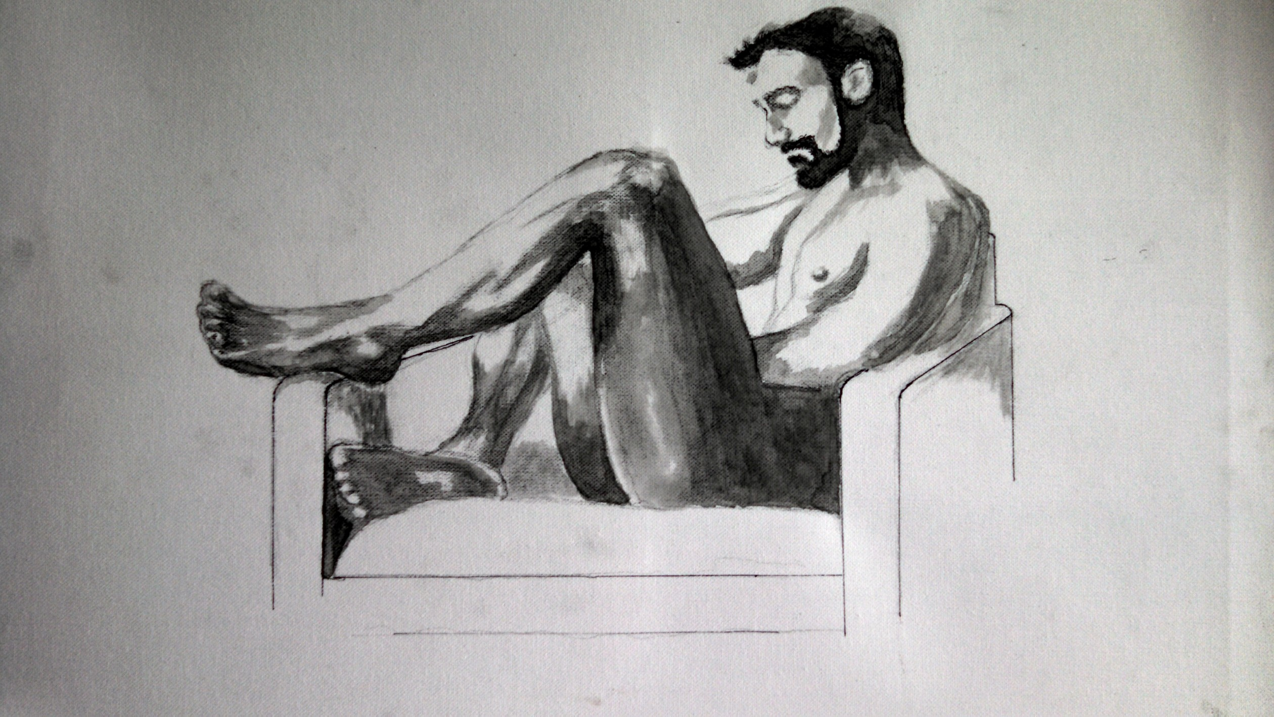 relaxing by Kent Tahsequah (Donated to the UCPPE)